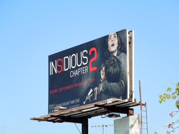 Insidious Chapter 2 billboard