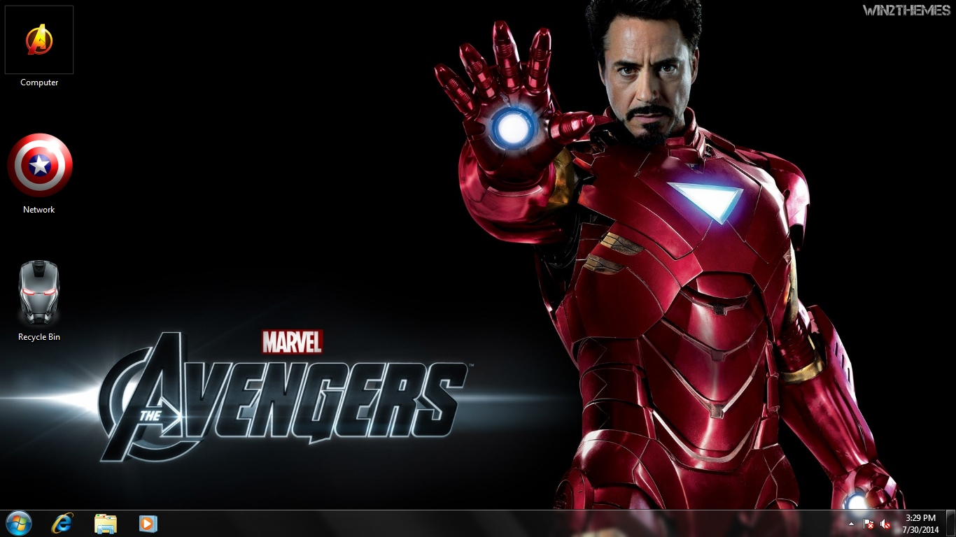 Top Wallpaper Marvel Windows 10 - The+Avengers+%255BWin2Themes%255D+%25281%2529  You Should Have_307056.jpg