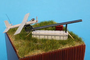 For Sale on Ebay - Silver Fox and Launcher on Packing Crate