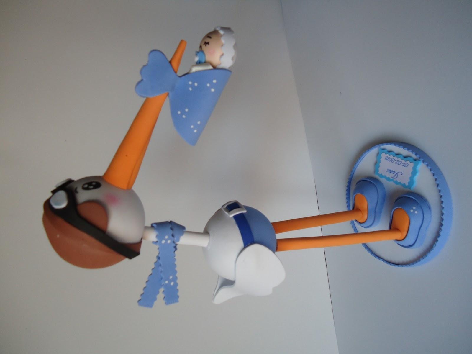 El Rinconcito de Meme: Regalito de cigüeña para Baby Shower