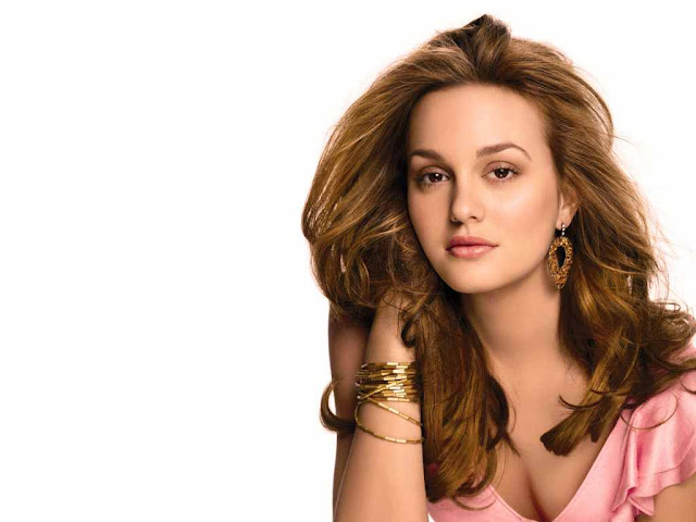 Leighton Meester have a beautiful face
