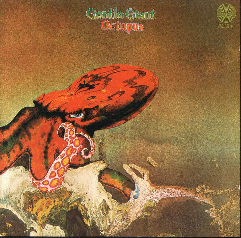 Gentle Giant - Octopus album cover