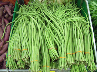 We Grow Two Varieties At The New Roots Farm Black Stripe Yard Long Bean So Named Because