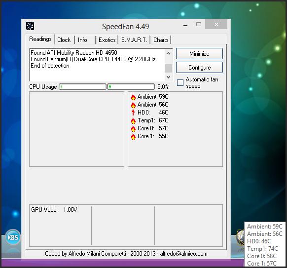 Fan Control Software Windows 7 : Speedfan for windows free download software backuprev