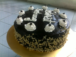 kek tunang moist coklat
