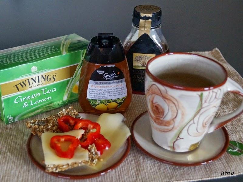 honning i te