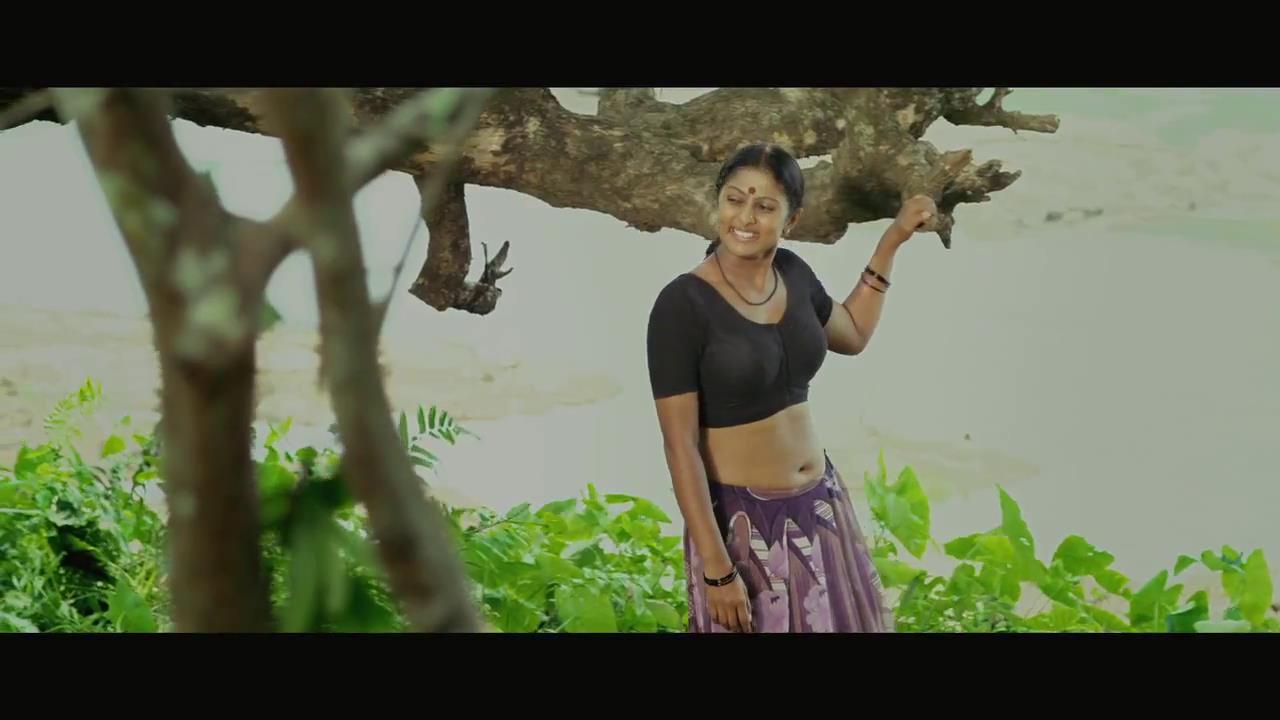 Vinutha Lal latest hot navel show photos in saree from Parankimala