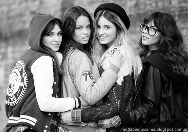 Moda otoño invierno 2014. 47 Street otoño invierno 2014 colecciones marcas argentinas.