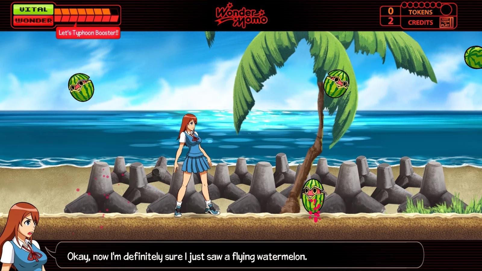 Wonder Momo: Typhoon Booster v1.0
