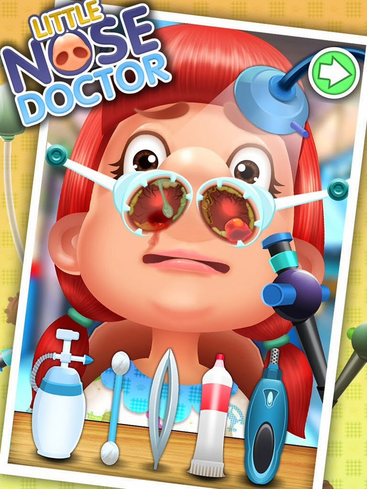 Little Nose Doctor - Free Games App iTunes App By George CL - FreeApps.ws