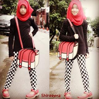 model hijab ala shirin
