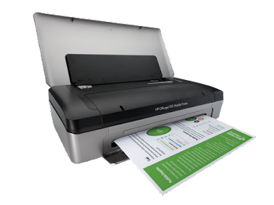 HP Officejet 100 mobile printer software