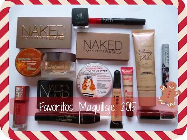Favoritos de Maquillaje 2015