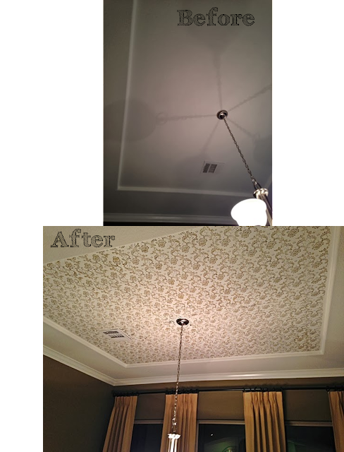 Adding Tray Ceiling: The Ragged Wren : Adding Character To Ceilings-Part 1