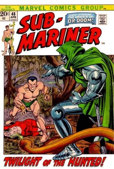 Savage Sub-Mariner #48, Dr Doom