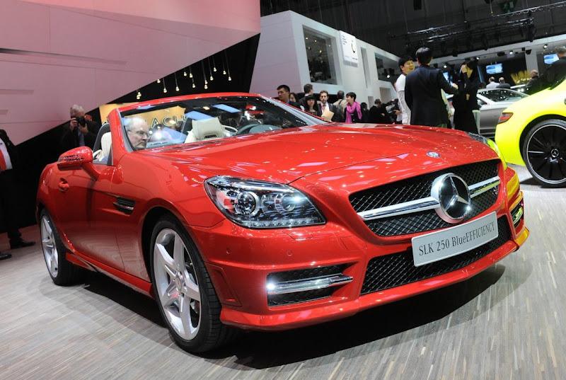 Mercedes-Benz SLK 250 BlueEFFICIENCY