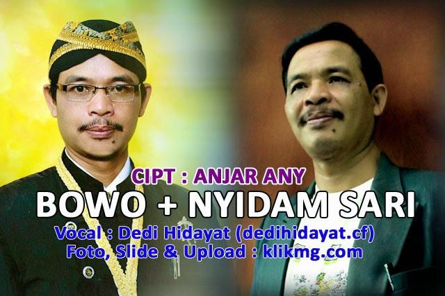 Contoh Vocal : Dedi Hidayat - Bowo Campur Sari - Recording & Slide Foto oleh : KLIKMG.COM Studio
