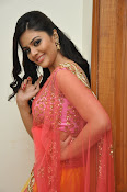 sri mukhi glam pix in half saree-thumbnail-19