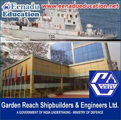 Garden Reach Shipbuilders & Engineers Ltd. (GRSE) Various jobs
