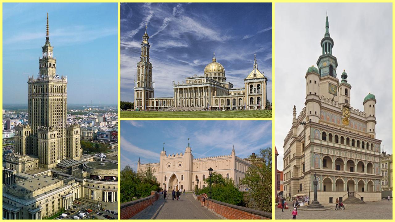Varsovia, Lichen, Lublin, Poznan