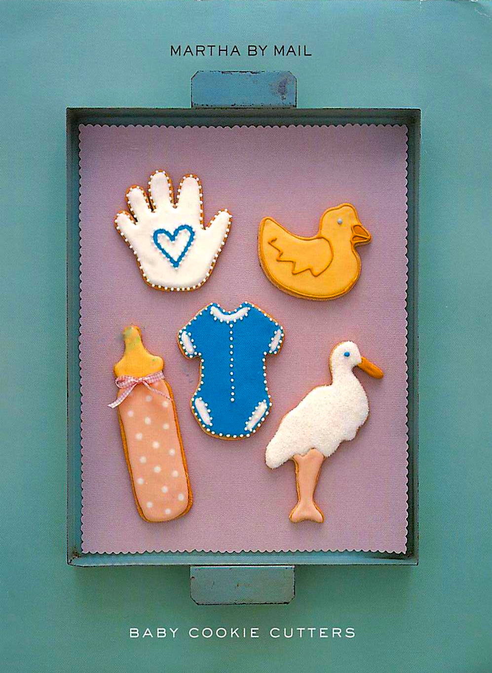 good things by david martha by mail baby shower cookie cutters