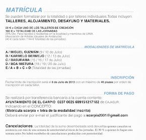 Formulario de matrícula