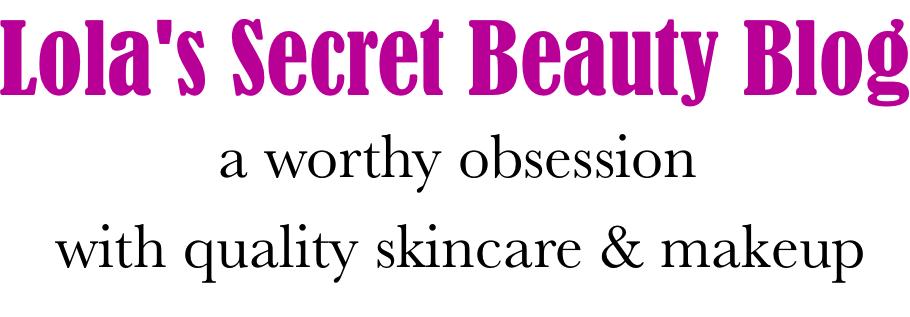 lola's secret beauty blog