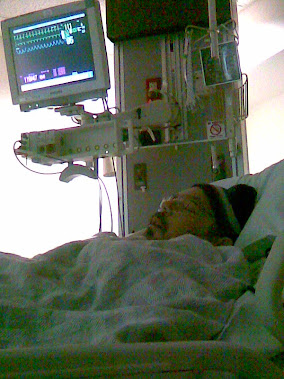 Me in ICU (Sleeping) 2012