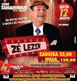 CLUBE TAMARINDUS - ZÉ LEZIN.