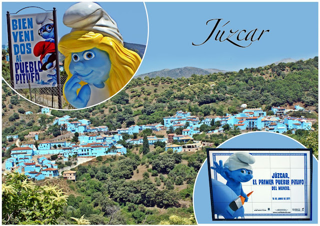 Travel around Spain - Juzcar, the first Smurf Village in the World