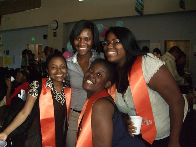 My students and I at their Graduation. Oakland 2011