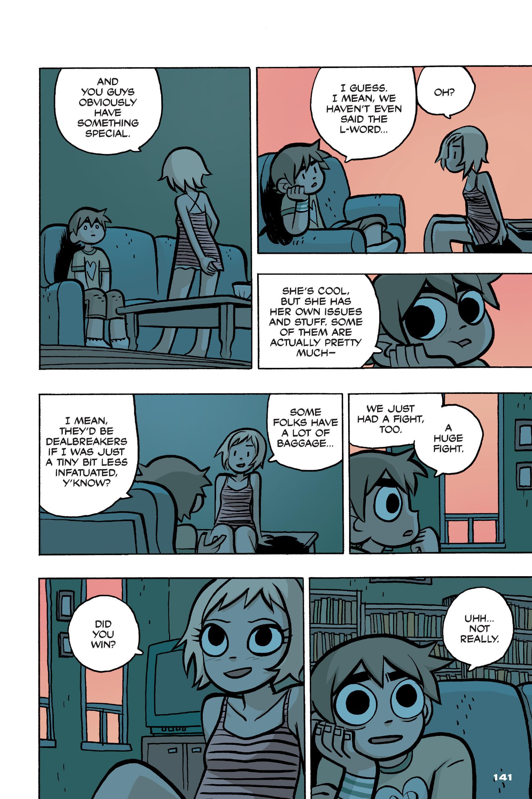 Read online Scott Pilgrim comic -  Issue #4 - 138