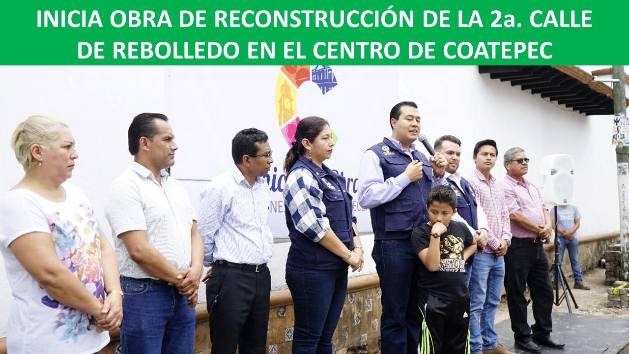 2a. CALLE DE REBOLLEDO EN EL CENTRO DE COATEPEC