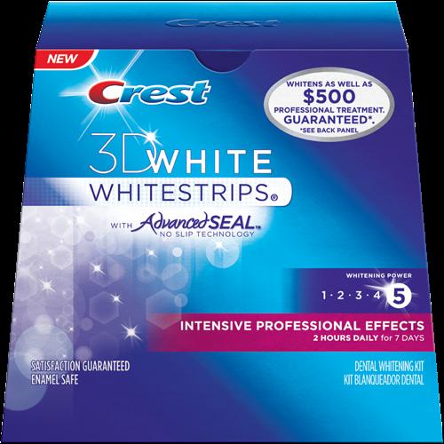 Crest 3d white blanqueamiento