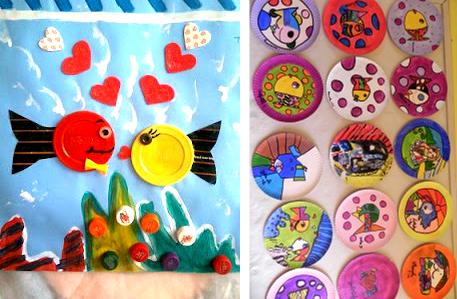 projeto de educação infantil com obras de romero britto