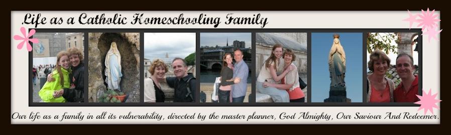 Catholic Homeshooling Family