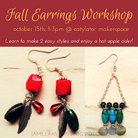 Fall Earrings Workshop