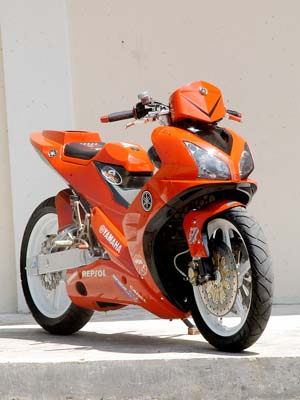 Jupiter MX Racing Pull Orange 2011