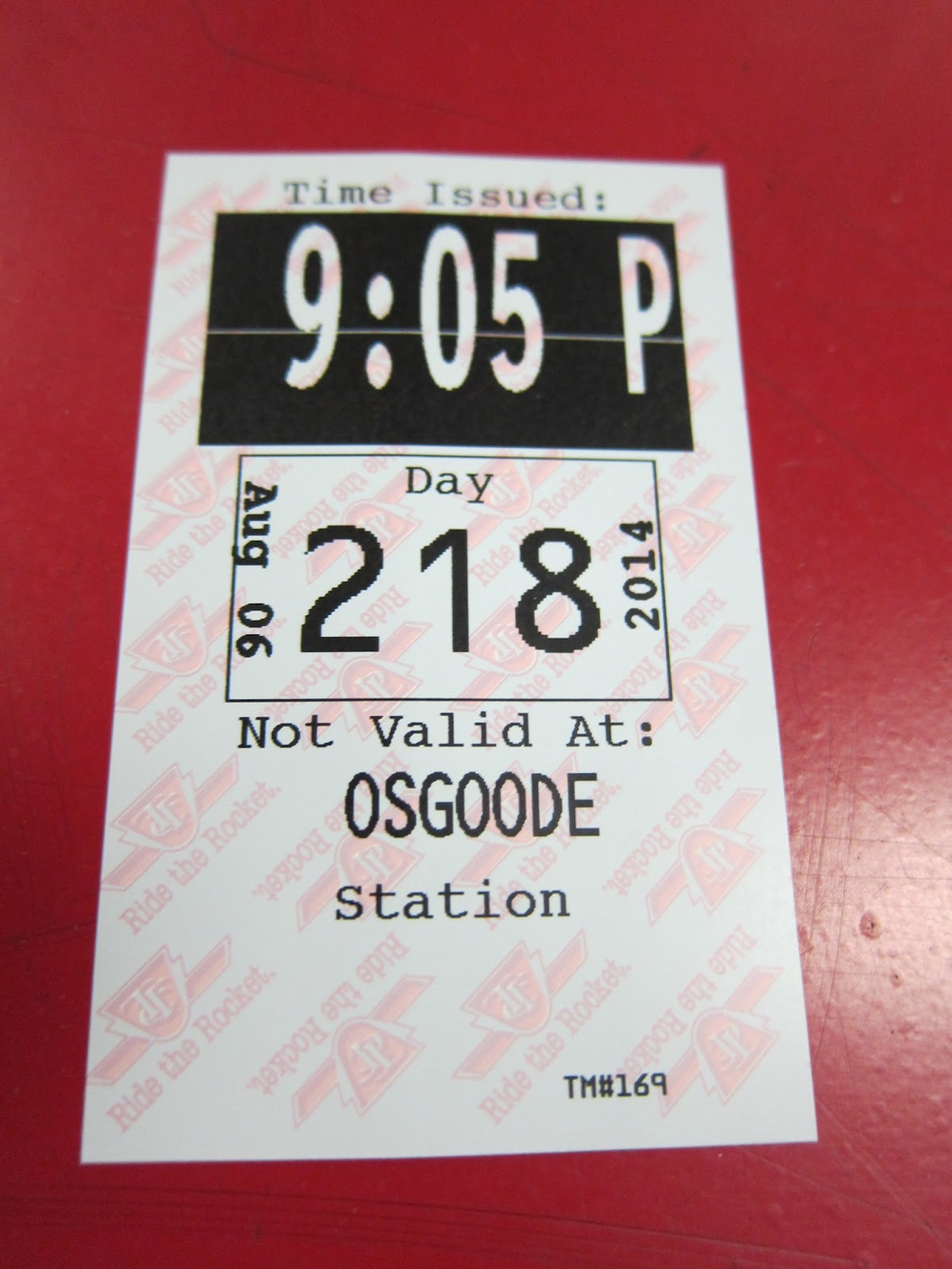 Osgoode station transfer