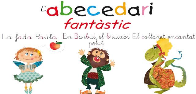 http://www.queraltedicions.com/Lectures/Contes-infantils/1_L%27-Abecedari-Fantastic.html