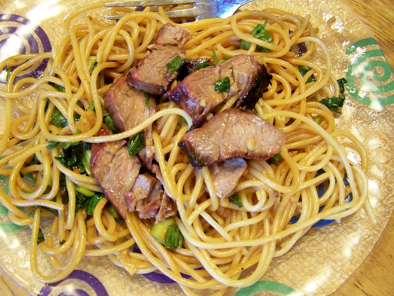 Diary of a Recipe Addict: Beef Noodle Salad Bowls