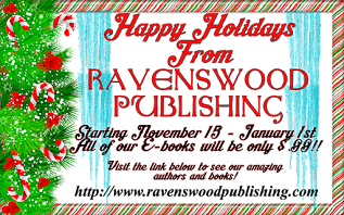 Celebrate the season with RAVENSWOOD PUBLISHING $.99 SALE!