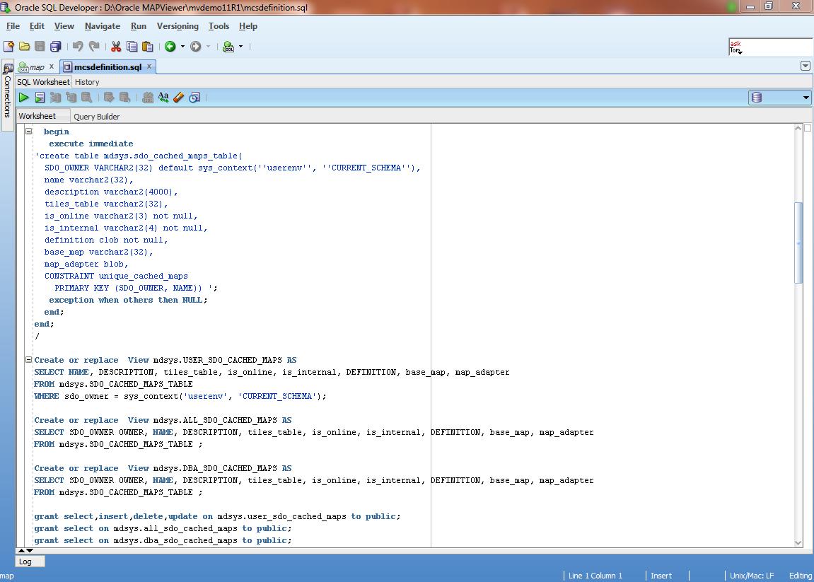 SQL DEVELOPER FOR ORACLE 11G