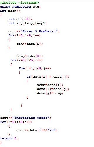 Shell Script to Sort Number in Descending Order