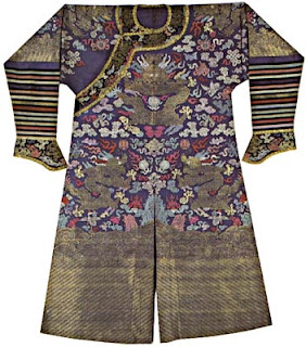 new England collection Chinese silk robes