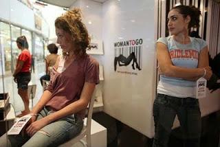 Toko Penjual Wanita Cantik Israel