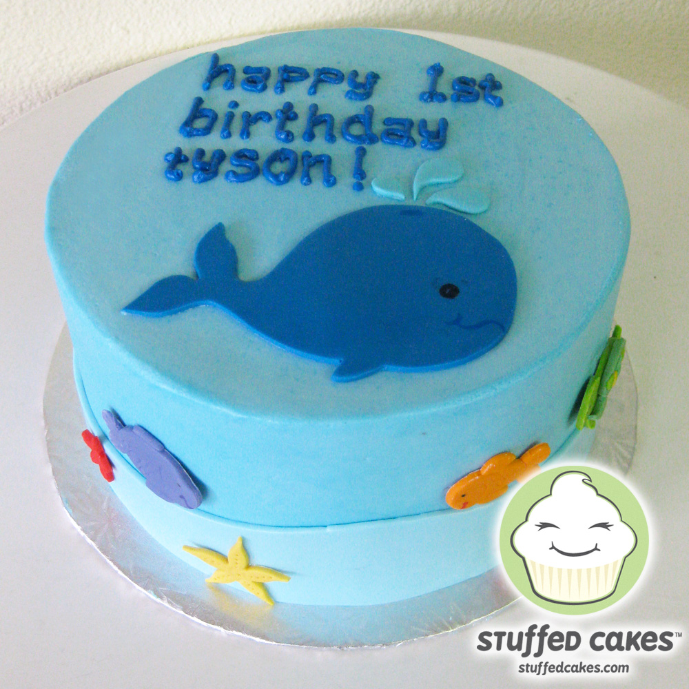 Stuffed Cakes: Whale Of A Good Cake