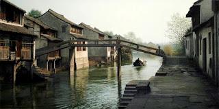 Canales Acuaticos en los Paisajes Chinos