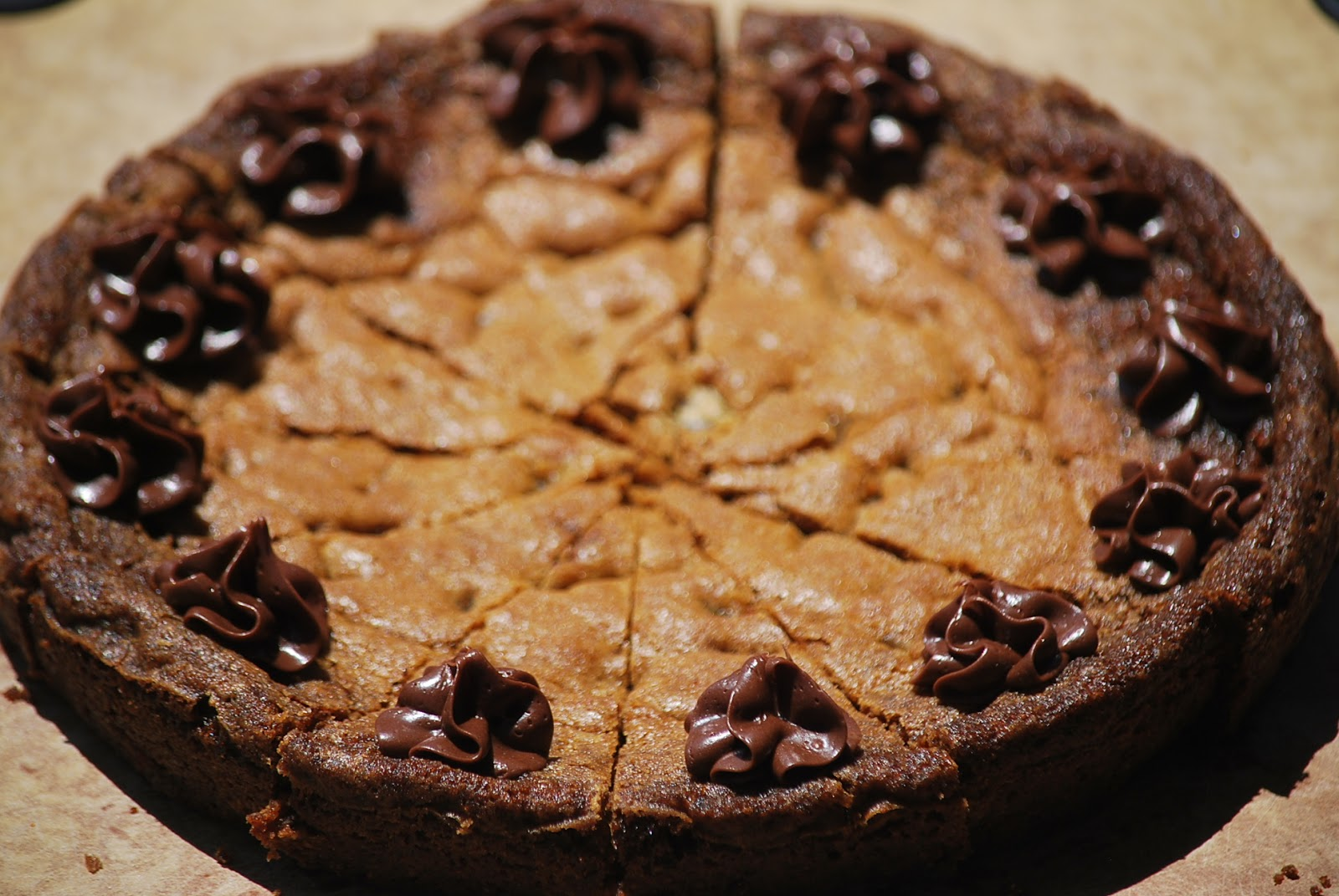 My story in recipes: Chocolate Chip Cookie Cake
