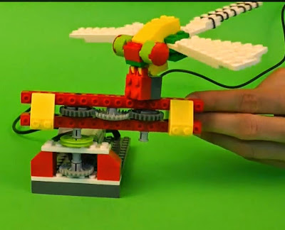 RoboCamp dragonfly overall view include upper section